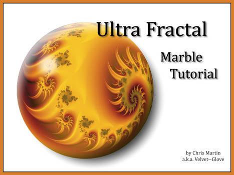 Ultra Fractal Marble Tutorial
