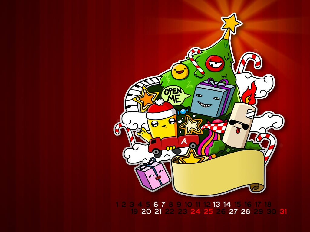rafz Calendar 2008 - December by r-fl