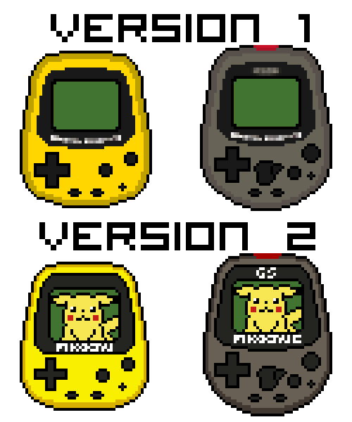 Pokemon Pikachus Pixelated by C2SilvaRymes