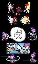 SonicXBleach - Sprite Edits 2