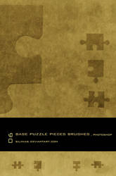 Base Puzzle Pieces Brush PS