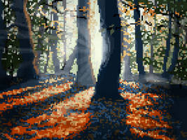 GIF/*Animated*: Pixel, Forest of Poland by Irina-Ari