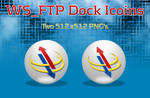 WS_FTP Dock Icons