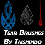 Tear Brushes by Taishindo