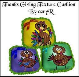 Deviant cushion Textures In ThangsGiving