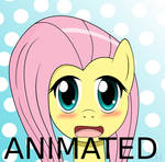 Animated Anime Fluttershy