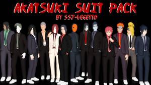 Akatsuki in Suits by SSJ-Vegetto