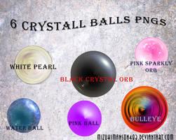Crystal balls png