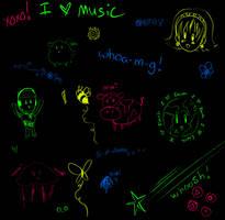 Doodleset by christalynnebrushes
