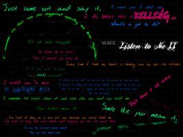 Listen to Me II by christalynnebrushes