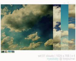set01. clouds by nyaubaby