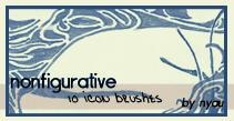 Nonfigurative Icon Brush Set by nyaubaby