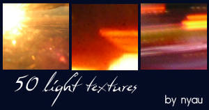 50 Light Textures by nyaubaby
