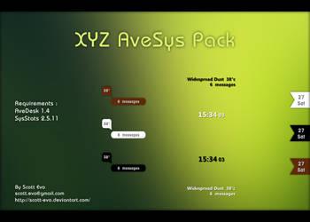 XYZ AveSys Pack by Scott-Evo