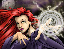 The Sorceress by ChrisTsuda