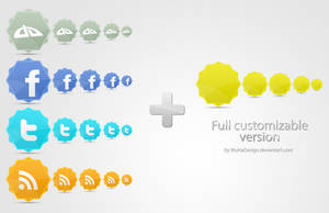 Social Networks Icons by WuHaDesign