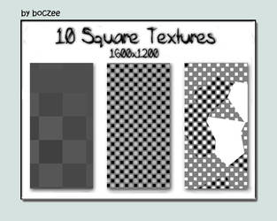 Square Textures Pack 1. by boczeetext