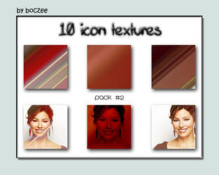 Icon Textures Pack 2. by boczeetext