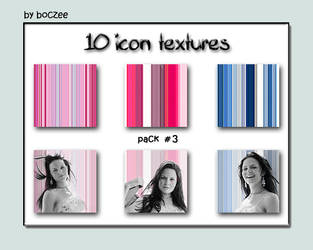 Icon Textures Pack 3. by boczeetext