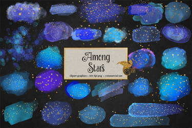 Among Stars PNG Clipart