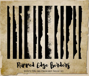 Ripped Edge Brushes by DigitalCurio