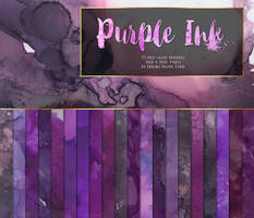 Purple Ink Texture Pack