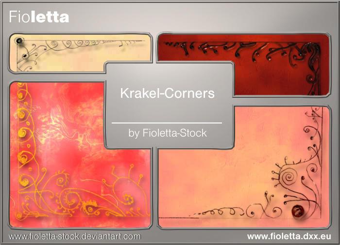 Krakel-Corners by fioletta-stock