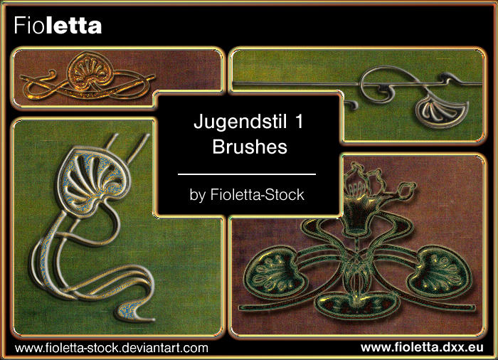 Jugendstil 1 by fioletta-stock