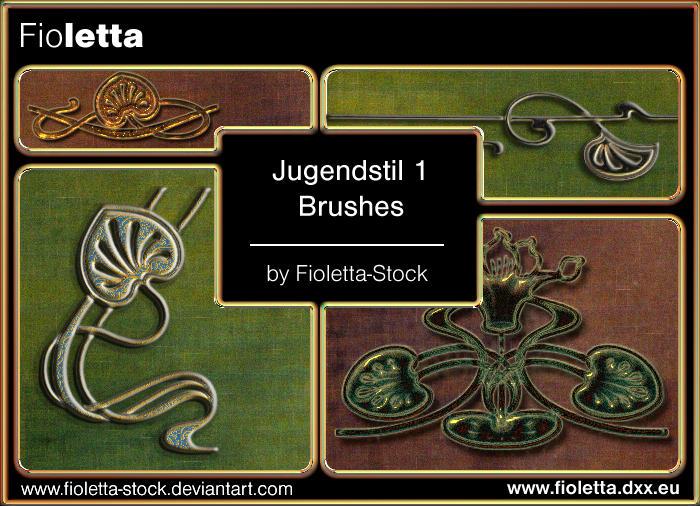 Jugendstil 1 by fioletta-stock