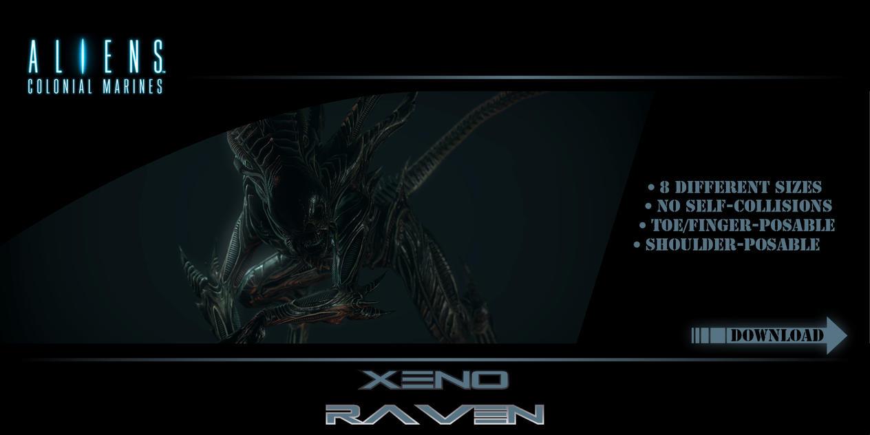 GMod Model - Xeno Raven by Mask1985