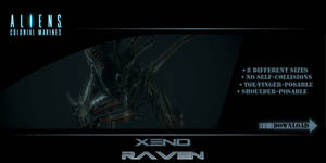 GMod Model - Xeno Raven