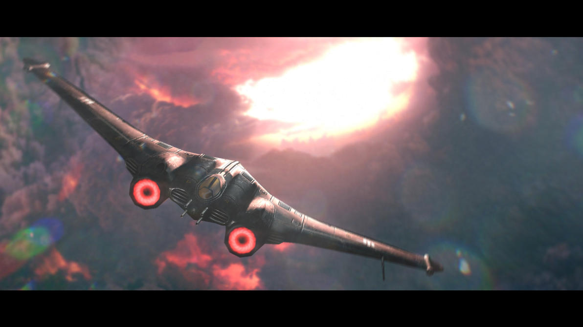 GMod Model - Axis Fighter Jet by Mask1985