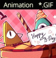 GF- Happy B-Day! by AlinaCat923