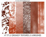 PHOTOSHOP BRUSHES : textures