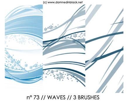 PHOTOSHOP BRUSHES : waves