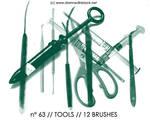 PHOTOSHOP BRUSHES : tools
