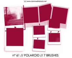 PHOTOSHOP BRUSHES : polaroid by darkmercy