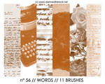 PHOTOSHOP BRUSHES : words