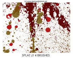 PHOTOSHOP BRUSHES : splats