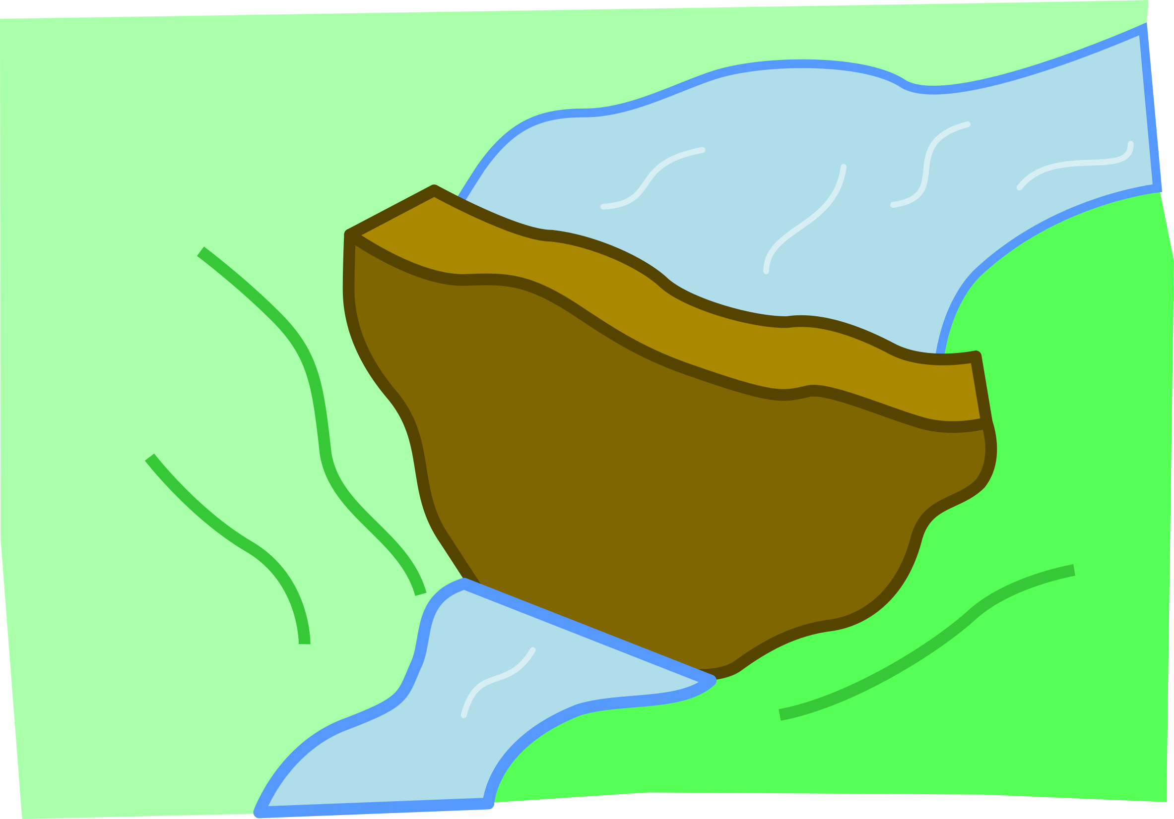 Kappa's dam by Makise-Homura