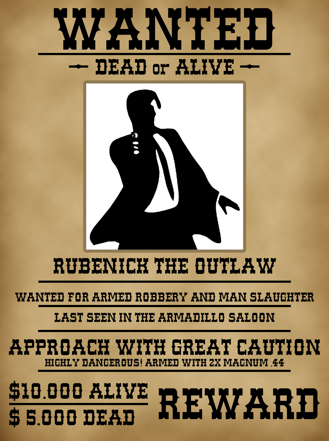 Wanted Person Poster Template   PosterMyWall