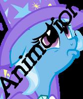 Sad Trixie (Animation) by PinkKirbz