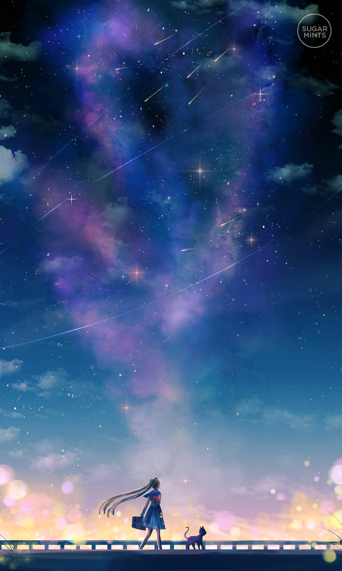 journey with stars.