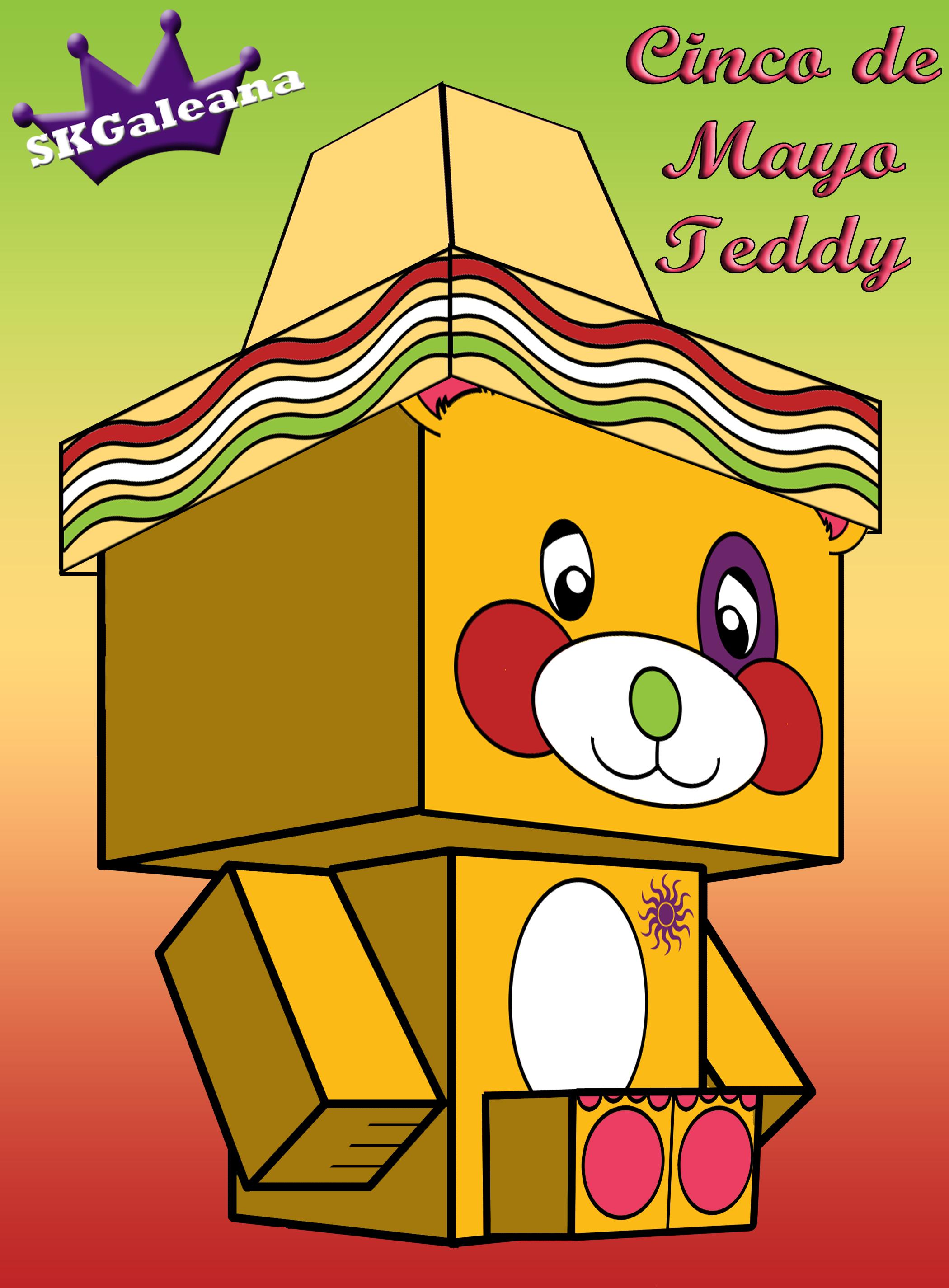 Teddy cinco de mayo by SKGaleana