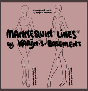 Mannequin Lineart x2 - P2U