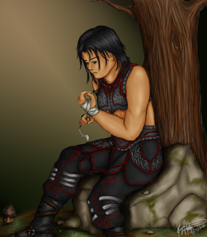 EQ2 Contemplative Monk by Kayarie on DeviantArt