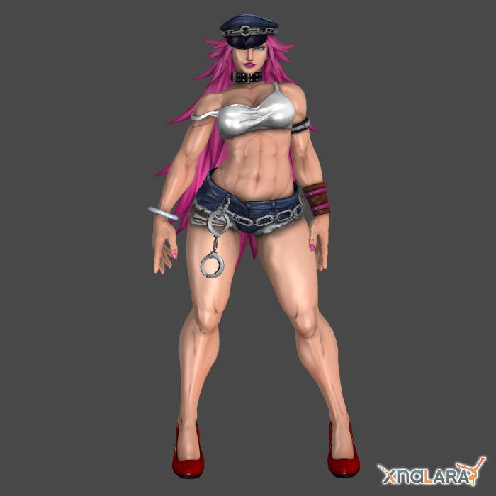 Poison 1p outfit for XNALara by KSE25