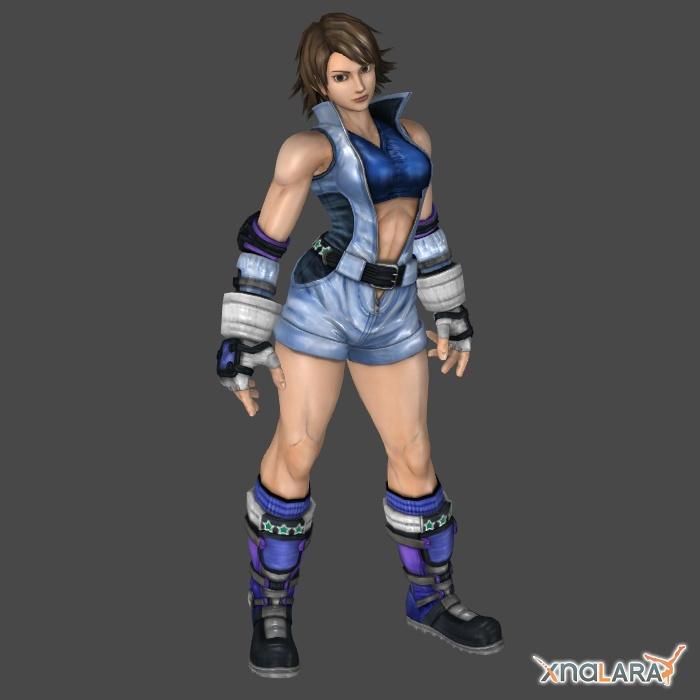 Asuka Kazama 1p outfit for XNALara by KSE25