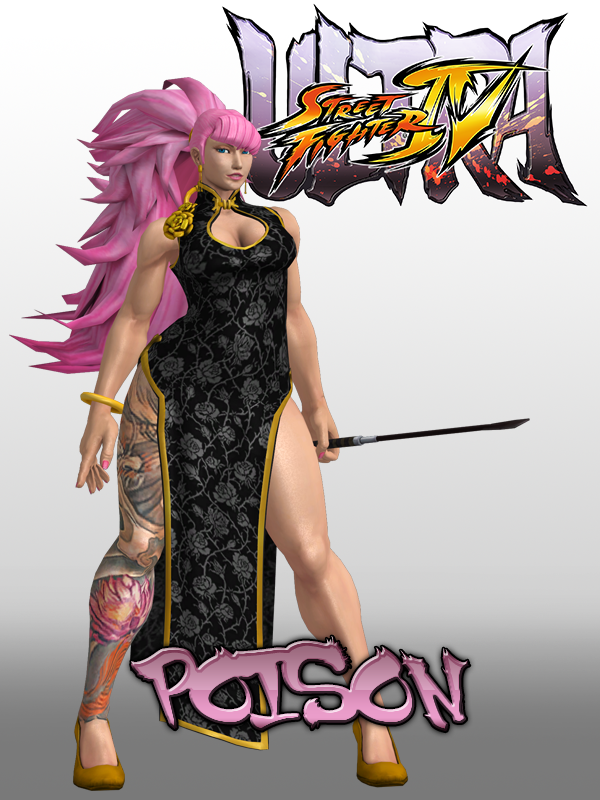 Poison Street Fighter Is A Man