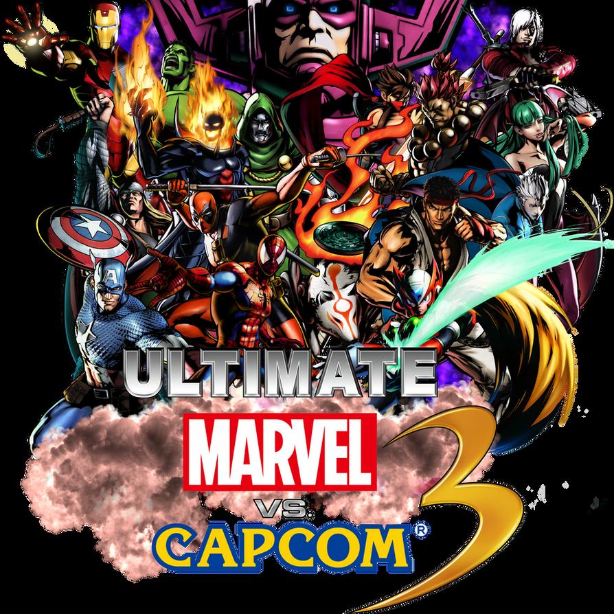 Ultimate Marvel VS. Capcom 3 by MasouOji on DeviantArt   894 x 894 png 1202kB